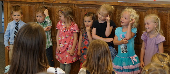 Toddlers recitation